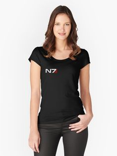 N7 emblem from mass effect game very famous from Commander Shepard. • Millions of unique designs by independent artists. Find your thing.