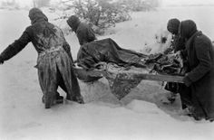burying the dead..Battle of the Bulge