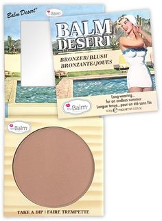 The Balm bronzer e blush Balm Desert