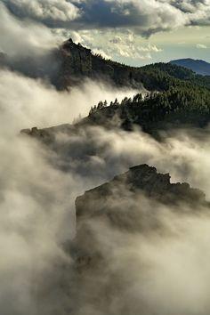 Gran Canaria, mar de nubes
