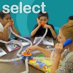 I so so so want this for my guided reading groups!  Whisper Phone Select 7 phones attached in such a way that you can ALL listen of have 1 on 1 conversation with a single student.