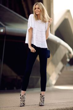How to Wear Peasant Tops and Look Chic | StyleCaster