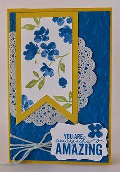 Yellowbear Stampin: Diorama Card