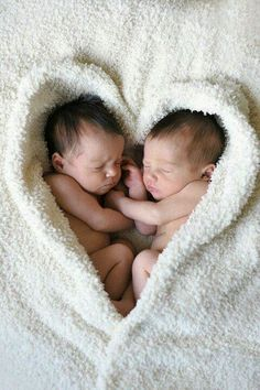 Twin pic! Blanket of love