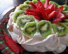Like Merchant Ships: Gluten-free dessert: pavlova