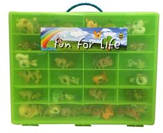 Littlest Pet Shop Compatible Organizer Green/Lime - Fun for LifeTM is Pefect Compatible Storage Case for LPS- Fits up to 60 Characters >>> See this great product.