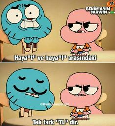 Gumball, Funny Images, Funny Photos, Karma, Cute Memes, Bullet Journal Ideas Pages, Mood Pics, Darwin, Galaxy Wallpaper