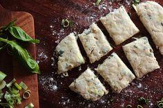 Caramelized Leek, Basil, & Black Pepper Biscuits by pastryaffair, via Flickr