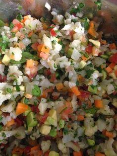 Esta receta la aprendi en mi clase de cocina, a la que voy todos los viernes!! A mi me encanto, espero les guste!!!     INGREDIENTES:   1 co...