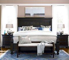 Paula Deen Bed Bench in Molasses Finish