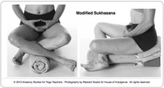 Modified Sukhasana