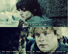 Sam's speech - The Lord of The Rings: Two Towers