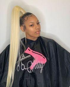 Hair Grade: Magic Love Hair Unprocessed Virgin Human Hair Hair Texture: Silk Straight Hair Length: inches In St Weave Ponytail Hairstyles, Ponytail Styles, Sleek Ponytail, Baddie Hairstyles, Black Girls Hairstyles, Trendy Hairstyles, Curly Hair Styles, Natural Hair Styles, Hair Laid