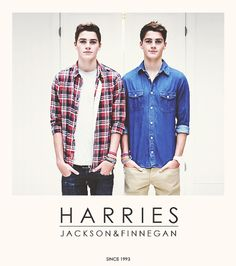 the Harries Twins! Jack and Finn!