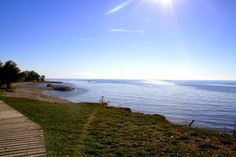 One day in Goderich, Ontario