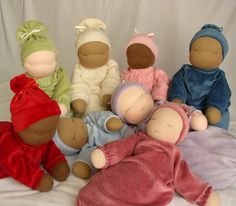 "beautiful waldorf dolls by ""dream pixie"""