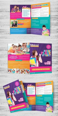 elementary school education bi fold