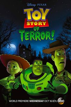 Toy Story of Terror! The first clip from Pixar's new short film Toy Story of Terror!, premiering on ABC on October Kid Friendly Halloween Movies, Best Halloween Movies, Halloween Quotes, Family Halloween, Halloween Fun, Disneyland Halloween, Halloween Decorations, Halloween Tricks, Toy Story