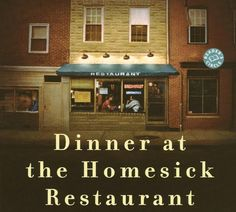"MARYLAND: ""Dinner at the Homesick Restaurant"" by Anne Tyler. Another Baltimore-based novel by Tyler, ""Dinner at the Homesick Restaurant"" t. Anne Tyler Books, I Love Books, Books To Read, Going Blind, States In America, 50 States, Famous Books, Literature Books, Come Undone"