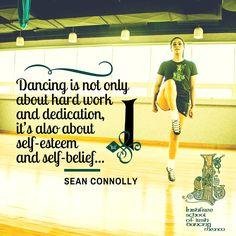 """""""Bailar no sólo se trata de trabajo duro y dedicación, sino también de autoestima y confianza en uno mismo...""""—Sean Connolly   #InishfreeMexico Tania Martínez  #IrishDancer #inishfreeTeam  #IrishDancing #WeareInishfree School of #IrishDancing  The #Art of #IrishDance ✨#SoftShoes"""