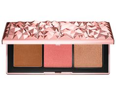 Shop NARS's Orgasm Infatuation Palette at Sephora. A limited-edition cheek palette with bronzing powder, blush, and a new shade of highlighting blush. Highlighter Makeup, Sephora Makeup, Bronzer, Makeup Brands, Best Makeup Products, Beauty Products, Thing 1, Make Up Palette, Highlight Palette