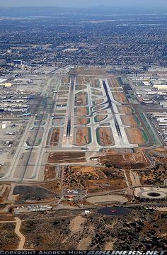LAX from the air (Los Angeles)