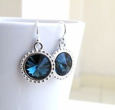 Sapphire blue by Samantha Miller on Etsy