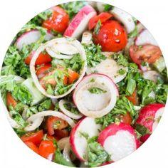 RAD Spring Quinoa Salad with Truffled Avacado | Fit & Happy Daily