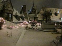 Secret rooftop garden at the Fairmont Le Chateau Frontenac, Quebec City