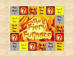 Lesson 23 The Fiery Furnace file folder game