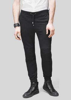Versus PANTALON DE JOGGING GENOUILLÈRE Pantalon de survêtement long en  coton de coupe décontractée, fuselée