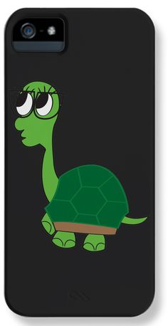 Adorkable Turtle iPhone Case