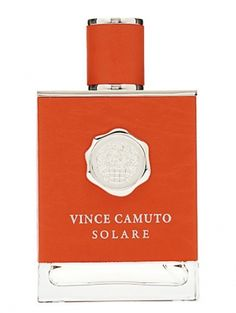 Vince Camuto Solare Vince Camuto for men ... Subtle note of orange ... Very fresh, but only for the spring and summer months.