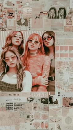 From bts to exo , nct and blackpink Doesn't matter Whatever you want :) Wallpaper Tumblr Lockscreen, Lisa Blackpink Wallpaper, Pink Wallpaper Iphone, Trendy Wallpaper, Blackpink Wallpapers, 17 Kpop, Black Pink Kpop, Blackpink Photos, Blackpink Fashion