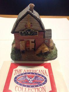 The Americana Collection Liberty Falls Stubb's Blacksmith & Saddlery 1992