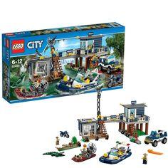 Lego Swamp Police Station Set (60069)  Manufacturer: LEGO Enarxis Code: 015560 #toys #Lego #city #swamp #police