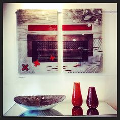 Glass Design, Ios App, Vases, Glass Art, Art Gallery, Plate, Touch, Interior, Instagram Posts