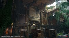 ArtStation - Uncharted 4 - Treasury, Andres Rodriguez