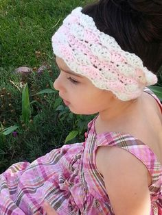 Free Crochet Pattern - Ear Warmer Headband With a Twist - Designed by String With Style