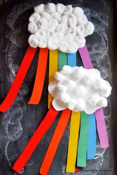 Paper Plate Rainbow Craft to Learn the Colors of the Rainbow | A Little Pinch of Perfect: