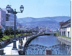 """Otaru, Japan. Travelers seemed to go nuts over this canal or """"Unga""""."""
