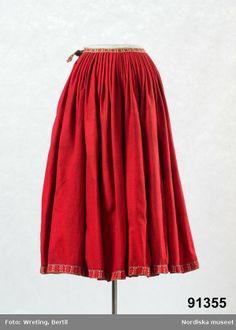 Skirt fromToarp, Västergötland.