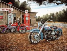 Images For > Vintage Motorcycles Posters