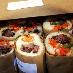 Banh mi's! #Vietnamese #sandwiches