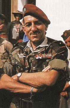 Gen. Jacques Massu (Airborne) distinguished himself during WW2, in Indochina, and during the Algerian War. He rose to command the French Forces in Germany. Massu was accused by Algerian fighters of endorsing the use of torture by his parachutists during the Algerian War. Massu accepted full responsibility for such practices claiming that they were necessary. He died in his home of Gâtinaise Conflans-sur-Loing in 2002, aged 94.