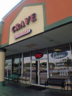 Crave, a restaurant in Fort Myers. Crave Restaurant, New Press, Fort Myers, Places To Eat, Cravings, Restaurants, Lunch, Dinner, Food