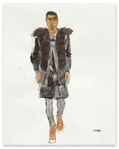 Richard Haines - Untitled 6 (A/W 2011 Men's Collections) for New York Times T Blog