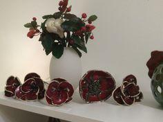 Keramikblüten