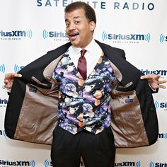 Awesome! I love him :) What to Drink While Stargazing, a Wine Guide by Neil deGrasse Tyson: We know Neil deGrasse Tyson as an astrophysicist, director of the Hayden Planetarium in New York City, and fearless host of Cosmos, the remake of Carl Sagan's original series on space exploration.