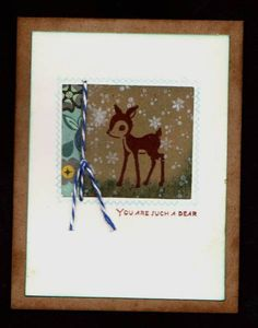 CAS146 You are a Dear by gabalot - Cards and Paper Crafts at Splitcoaststampers